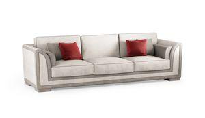 ART. 3334, Zeitgenössisches Sofa mit gesteppten Teilen