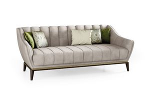 ART. 3340, Modernes Sofa mit Eukalyptus-Fuß