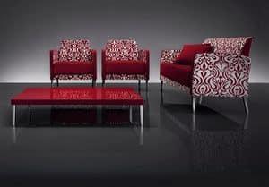 ART. 951 HOLLYWOOD SOFA, Linear Sofas für Hotel und Wartebereiche
