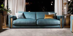 ATMOSFERA Sofa, Kostbares Sofa mit raffinierten Oberflächen