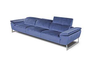 Belair, Sofa mit verstellbarer Kopfstütze