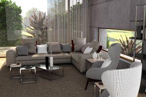 Bond, Modernes Sofa, mit komplett abnehmbaren Bezug