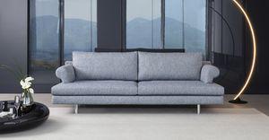 Brera, Sofa Polsterung aus Polyurethan, Holzrahmen