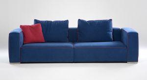 Cesar, Pappel Sofa mit ineinandergreifenden Elementen
