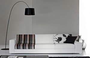 City Due, Elegante Sofa, Sitz mit unterschiedlichen Dichten
