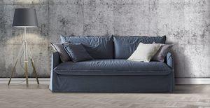 Clarke XL, Sofa mit tiefem Sitz