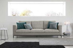 COLORADO, Anpassbares Sofa, mit Feder gepolstert