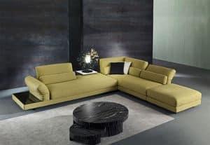 Cox, Stoff Sofa mit Mechanismus entspannen, für Wohnräume
