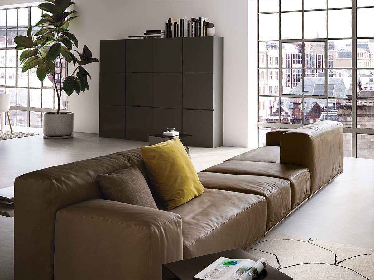 Schön Modernes Sofa Moderne Sofa Mit Zwei Stufen Zurück Idfdesign