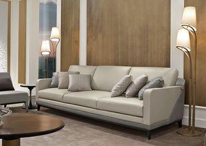 Dilan Art. D82 - D83, Sofa aus Holz und Leder