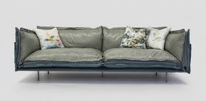 Double, Maßgefertigtes Sofa mit Stahlstruktur