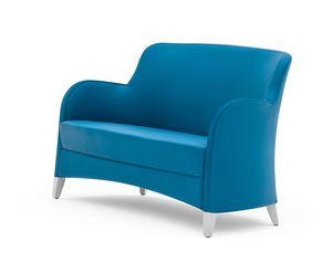 Euforia 00151, Zweisitziges Sofa für Wartezimmer