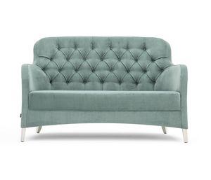 Euforia 00151K, Kleines Sofa mit Capitonné-Rücken