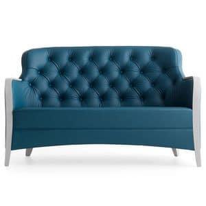 Euforia 00152K, Sofa mit revisited klassischen Stil geeignet fot hohen Hotels