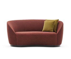 Euforia system 00159, Gepolsterte Sofa mit einem Soft-Design