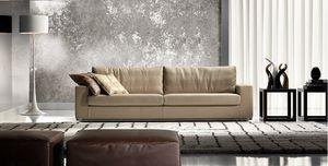 Ever, Modernes Sofa mit weichen Kissen