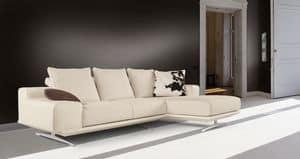 Fusion Sofa, Sofa mit Halbinsel, modernes Design