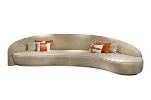 Gatsby, Großes Sofa mit geschwungener Form