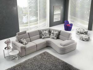 Ginger, Modulares Sofa mit Komfortmechanismen