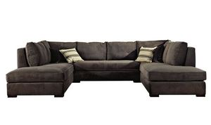 Grigiochiaro, Modulares Sofa mit abnehmbarer Polsterung