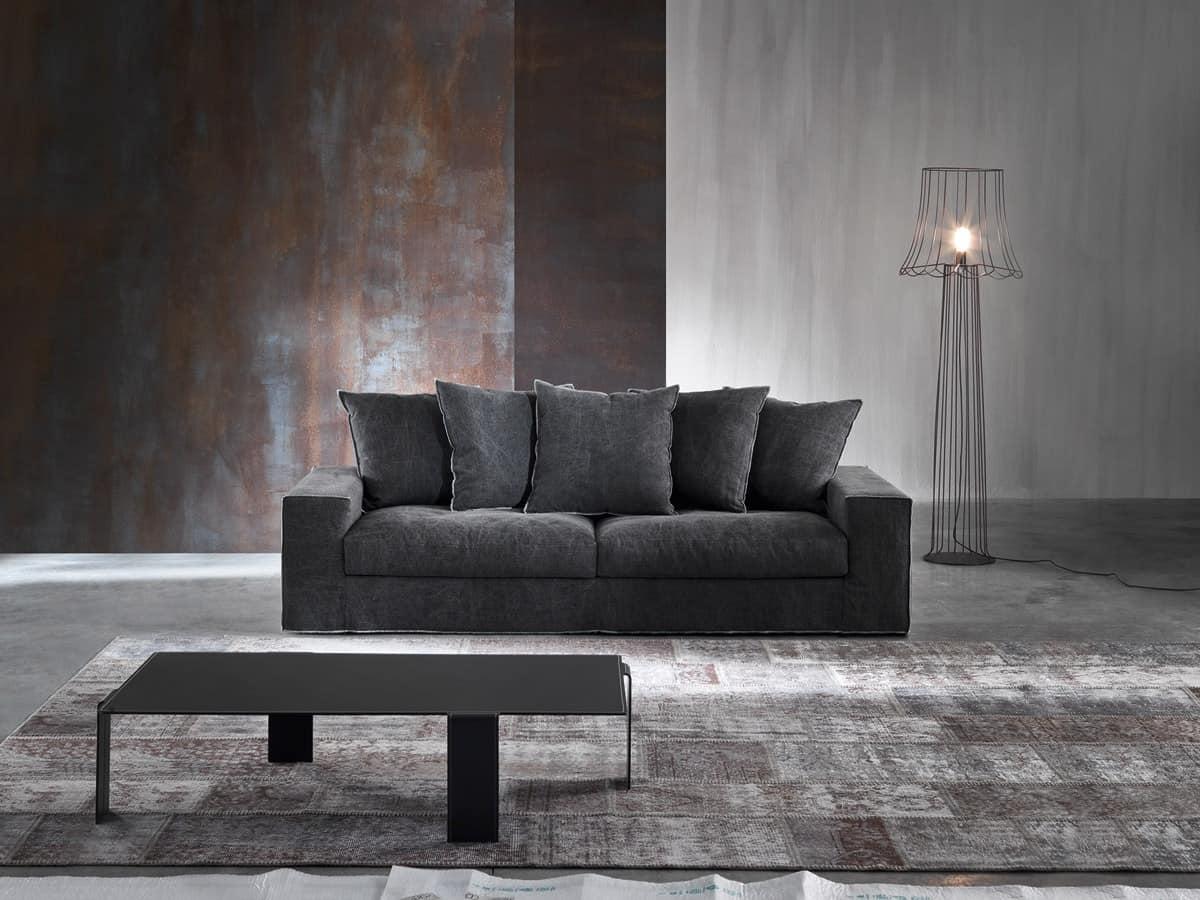 sofa f r hotel gepolstert mit polyurethan und nach unten idfdesign. Black Bedroom Furniture Sets. Home Design Ideas