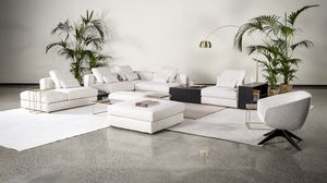 Justin, Extra weiches modulares Sofa