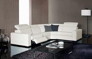 Kline, Elegante Sofa, einstellbar, mit Relax-Funktion