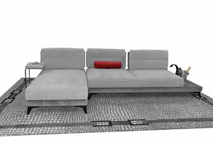 Levante, Modulares Sofa mit Halbinsel