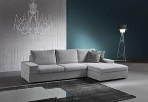 Live, Elegantes Sofa mit integriertem Soundsystem bluetooth