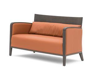 Logica 00952, Massivholz Sofa für Entspannung und Wartebereiche