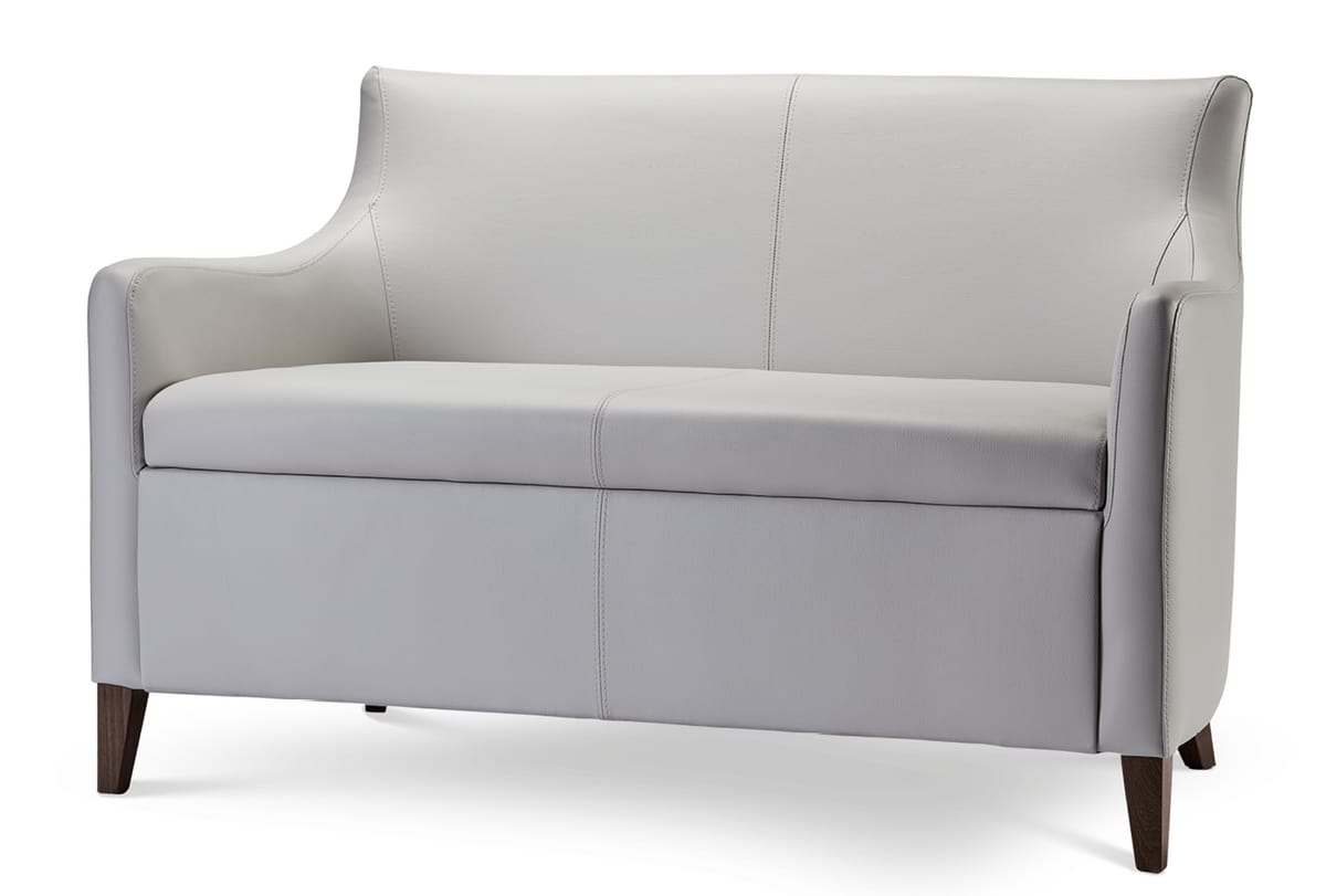MADEIRA D LOUNGE 1, Zweisitzer-Sofa aus Stoff oder Kunstleder