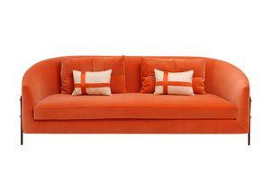 Mademoiselle, Sofa mit gerundeter Rückenlehne