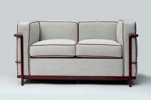 Modulo, Abnehmbares Sofa aus Stoff oder Leder