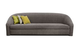 Monsieur, Dreisitzer-Sofa mit abgerundeter Rückenlehne