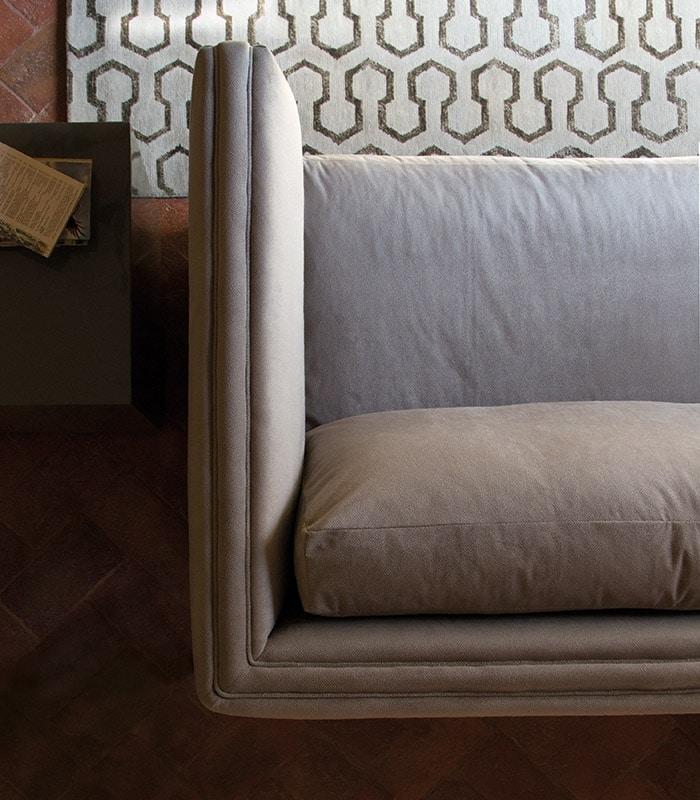Morris Sofa, Modernes Sofa mit Stoffbezug
