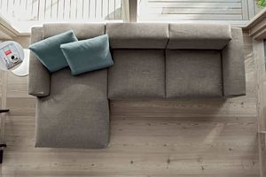 NEVADA, Modulares Sofa mit Halbinsel