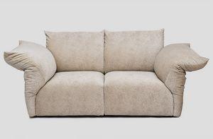 Number, Maßgefertigtes Sofa mit Stahlrahmen und internem Mechanismus