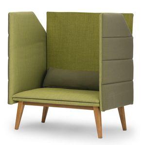 Oasis high, Sofa mit hoher Rückseite und Seiten erlaubt mehr Privatsphäre