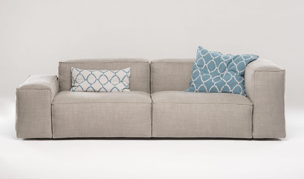 Odeon, Maßgefertigtes Sofa, komplett mit Bettdecke bezogen