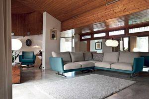 OPERA, Sofa mit weichen Formen