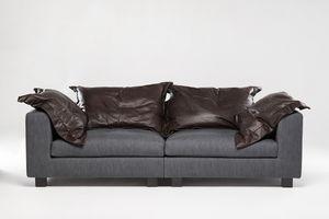 Paul, Maßgefertigtes Sofa mit Memory-Foam-Kissen