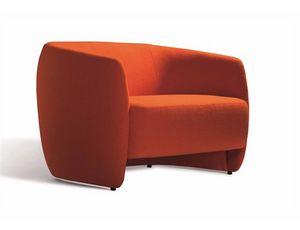 Plum 560S, Modernes Sofa mit abgerundeten Formen