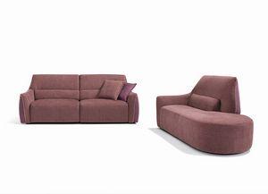 Puffy, Bequemes kompaktes Sofa