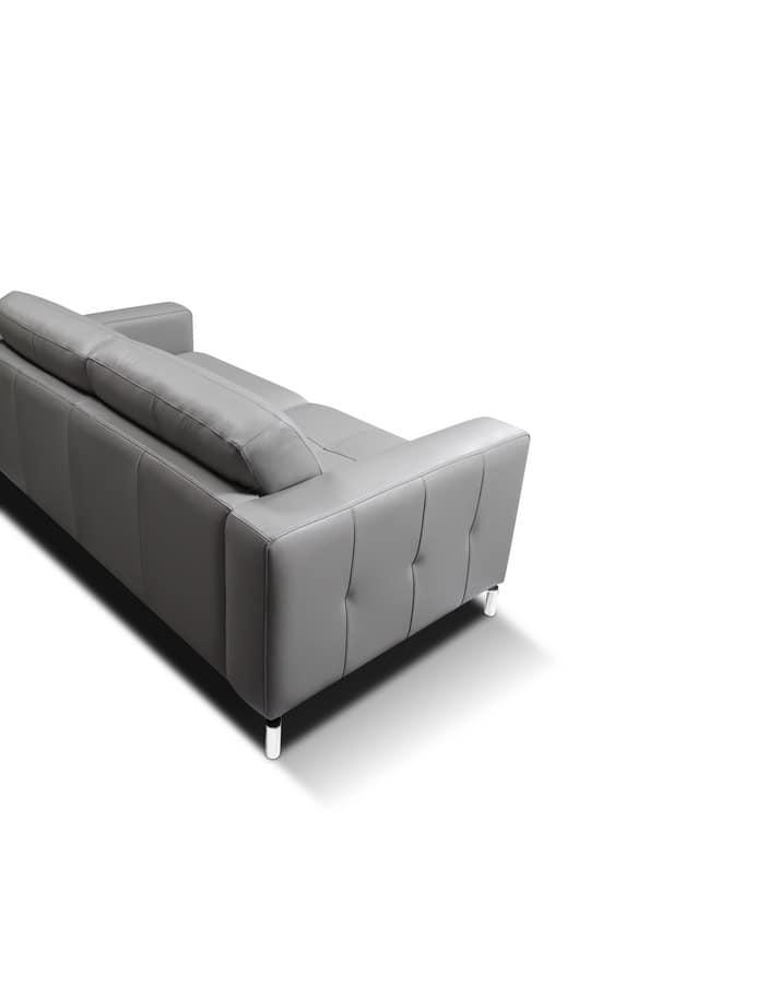 modernes quadratisches sofa mit kologischem polyurethan idfdesign. Black Bedroom Furniture Sets. Home Design Ideas