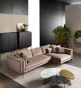 Shangai Ecksofa, Modulares Sofa mit modernem Design