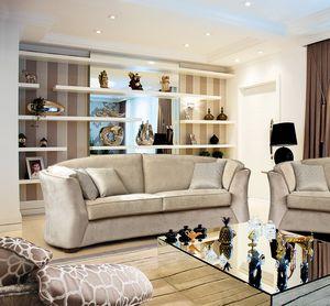 Sinclair, Sofa mit raffinierten Linien, passend für jede Umgebung