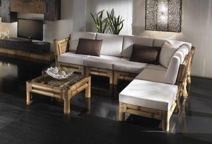 Sofa Kioto, Modulares Sofa, ethnischer Stil