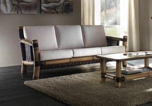 Sofa Surya, 3-Sitzer-Sofa im Ethno-Stil