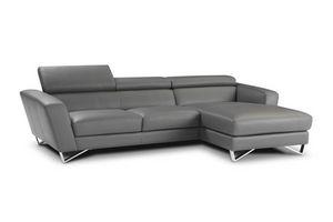 Sparta, Modernes Sofa mit verstellbarer Kopfstütze