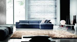 Steve, Sofa mit klaren und essentiellen Linien